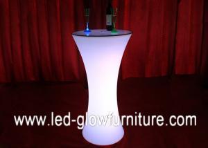 China Plastic Roman Columns LED Illuminated Table lighting pillars 16 colors changing on sale