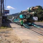 оборудование кучи 80kN.m пробуренное вращающим моментом с частями машинного оборудования конструкции Kobelco