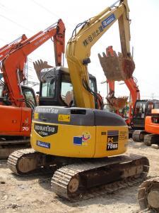 China Komatsu digger second hand midi excavator PC78US on sale