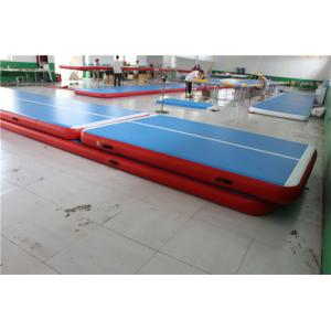 China Soft Inflatable Air Track Gymnastic Equipment 2 Years Warranty RoHs Approved on sale