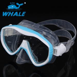 China Low Profile Professional No Fog Dive Mask on sale
