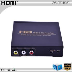 China High quality  hdmi to av +audio converter auto scaler full hd 1080p on sale