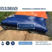 Fuushan Reinforced And Portable PVC Bladder Inflatable Water Tank 1000L-100000L