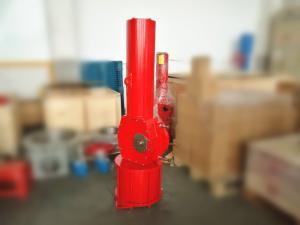 China Ductile Iron Quarter Turn Scotch Yoke Pneumatic Actuator For Control Valves on sale