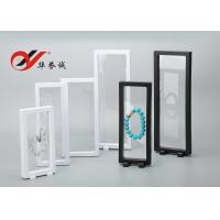 Transparent Floating Display Frame Color Customized ABS / PET Material For Display