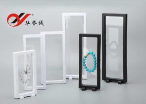 China Transparent Floating Display Frame Color Customized ABS / PET Material For Display on sale