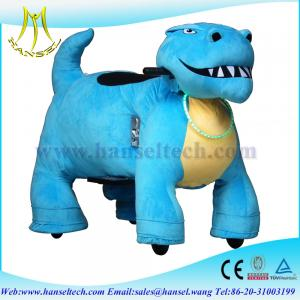 China Hansel Electronics Walking Animal Ride On Toy Mechanical Ride On Animals on sale