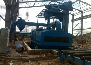 China Industrial Shot Blasting Machine For Steel Sheet Corrosion Resistant Pretreatment on sale