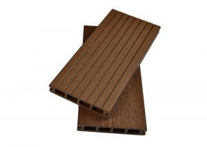 China Waterproof WPC Composite Interlocking Outdoor Deck Tiles / WPC DIY Floor on sale