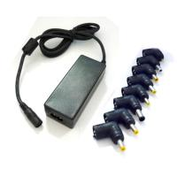 40W Lap top Power Supply with 8Interchangeable Tips