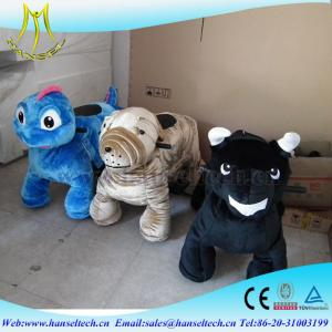 China Hansel mini amusement ride walking dragon ride coin operated battery operated zoo animal toys ride on animal toy on sale