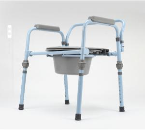 China Commode chair With Tool Free, Folding Commode chair, Aluminum commode chair on sale