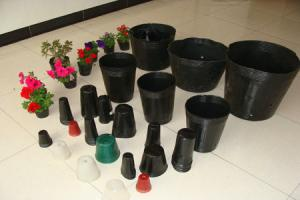 China Eco-friendly Biodegradable Plant Pots , HDPE Compostable Seedling Pots on sale