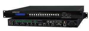 China Digital Video Scaler Switcher LCD Screen Status Display Fast Switching Technology on sale