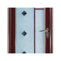 China frosted glass bathroom door on sale
