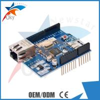 Ethernet W5100 R3 Shield For Arduino UNO R3 , Adds Section Micro-SD Card Slot
