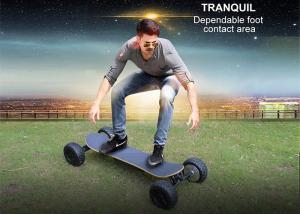 China 4 Wheel 1000W Carbon Fiber Electric Skateboardreomote Control 30Km Max Mileage on sale