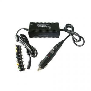 China DC 80W Laptop Power Adaptors for Car and Airplane use on sale