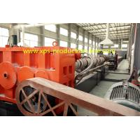 Professional CO2 + LPG 75T/200 XPS Extruder for Styrofoam Insulation Board