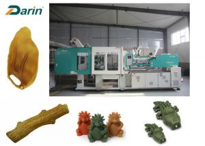 China Favorite Dental Care Dog Snack Pet Injection Molding Machine Pet Food Machine Dog Chewing Toy Making on sale