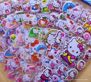 China Kawaii Cute Cartoon Foam Stickers 3D EVA Puffy Stickers for Girls Decorative on sale