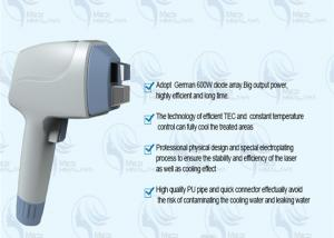 China 220V Medical Diode Laser Hair Removal Machine , safe laser hair removing machine supplier