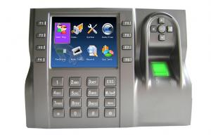 China Large Display IP Based biometric technology fingerprint attendance system on sale