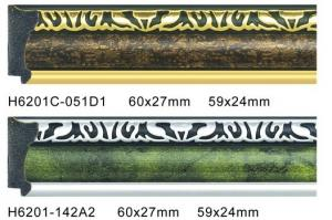 China Renewable Decorative PS Frame Moulding Non - Toxic With Oil Painting on sale