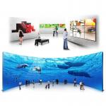 China Supermarket Mall Touch Screen Wall Display , Full HD Digital Signage Lcd Video Display wholesale