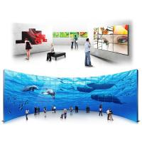 Supermarket Mall Touch Screen Wall Display , Full HD Digital Signage Lcd Video Display