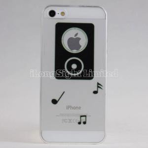 China Applus fashion creative Clear Plastic Case For iPhone 5 on sale