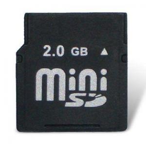 China Para la minitarjeta SD de Kingston para 128MB, 256MB, 512MB, 1GB, 2GB, 4GB, 8GB on sale