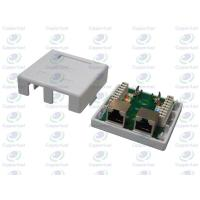 China CL-OLSB-02  Wall socket 2Port with STP Cat.5e PCB Module on sale