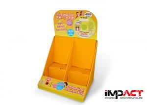 China Four Pockets Cardboard Pallet Display Stands For Advertising , OEM / ODM Service on sale