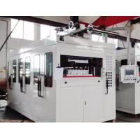 Servo Motor Plastic Thermoforming Machine PLC Touch Screen Square Steel Structure