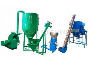 China 100 - 1000kg/h Capacity Top Grade High Performance Poultry Feed Pellet Production Line on sale