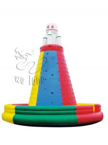 China Garden Supplies PVC fence New building material kids inflatable climbing wall on sale