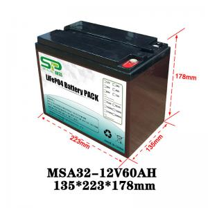 China Rechargeable Battery Pack 12v Output , NCM/LiFePO4 Car Battery Backup on sale