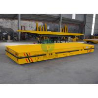 China China Electric Platform Battery Operated Industrial Motorized Transfer Vehicle for Steel Parts on sale