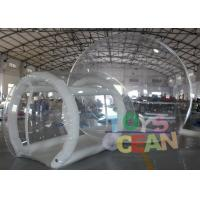 Rental Commercial Inflatable Clear Bubble Tent For Outdoor Camping