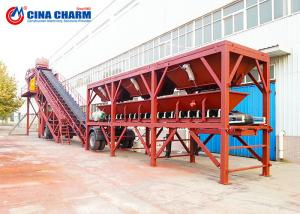 China YHZS75 Wet Mobile Concrete Batching Plant Ready Mix High Production Rate on sale