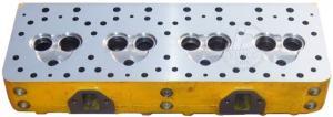 China 4D130 6115-10-1001 Excavator Diesel Engine Cylinder Head on sale