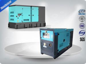 China Thick Soundproof Canopy Generator Set Water Cooled / Diesel Engine Weichai Generator Set on sale