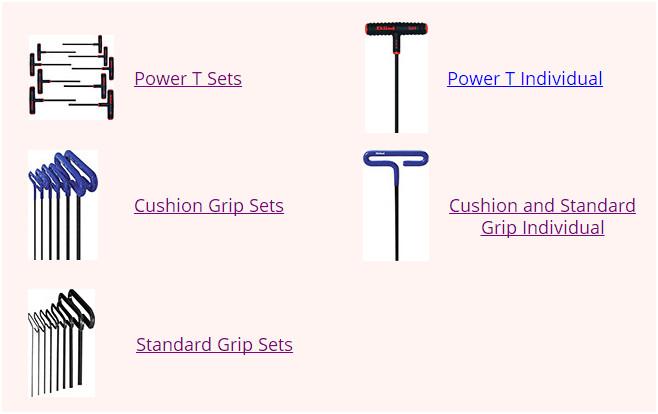 Pack of 12 Eklind 31906 3//32 Standard Grip Hex T-Keys, Eklind Tool