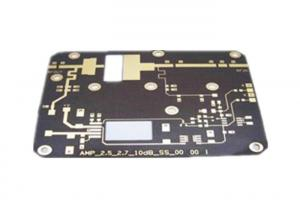China Rogers5880 4 Layer Base Station Black Soldermask Double Sided PCB on sale
