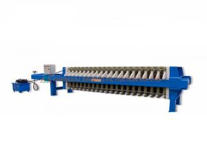China Chemical Industry Wastewater Filter Press Machine With One Year Warranty on sale