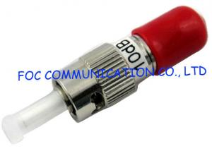 China ST 10dB Singlemode Fiber Optic Attenuator 1310 / 1550nm Wavelength High Stability on sale