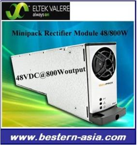 China Eltek Valere Minipack Rectifier Module 48V/800W on sale