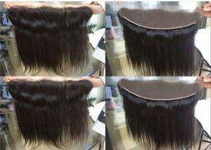 China 13x4 Ear To Ear Lace Front Closure Pieces With Virgin Brazilian Human Hair on sale