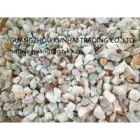 Mineral Fluorspar Lumps CaF2 80% , Fluorite Ore Size 10mm - 80mm
